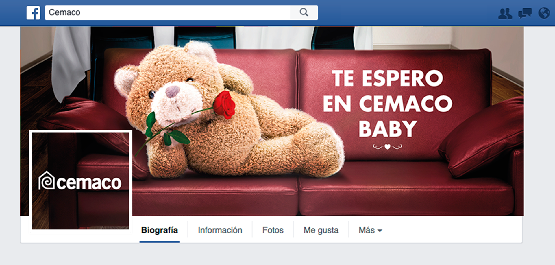 Baby te espero en Cemaco